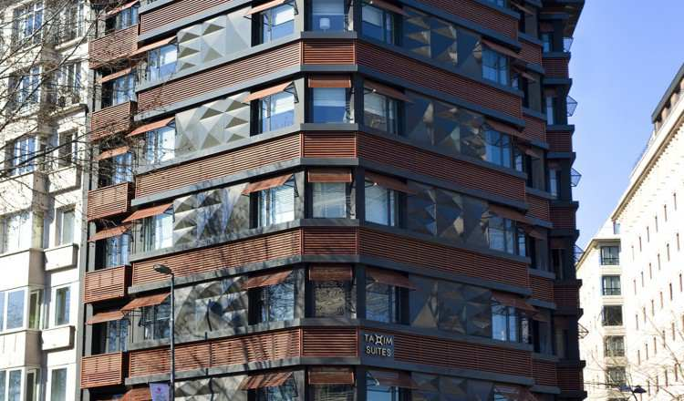 Bina Dış Görünüm - Taxim Suites