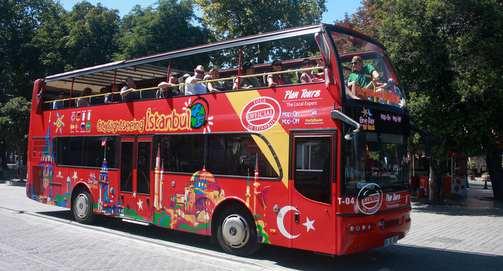 Taksim Çift Katlı Tur Otobüsü